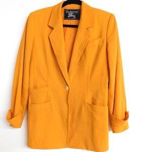 Vintage Burberrys' Marigold Blazer Size 6P